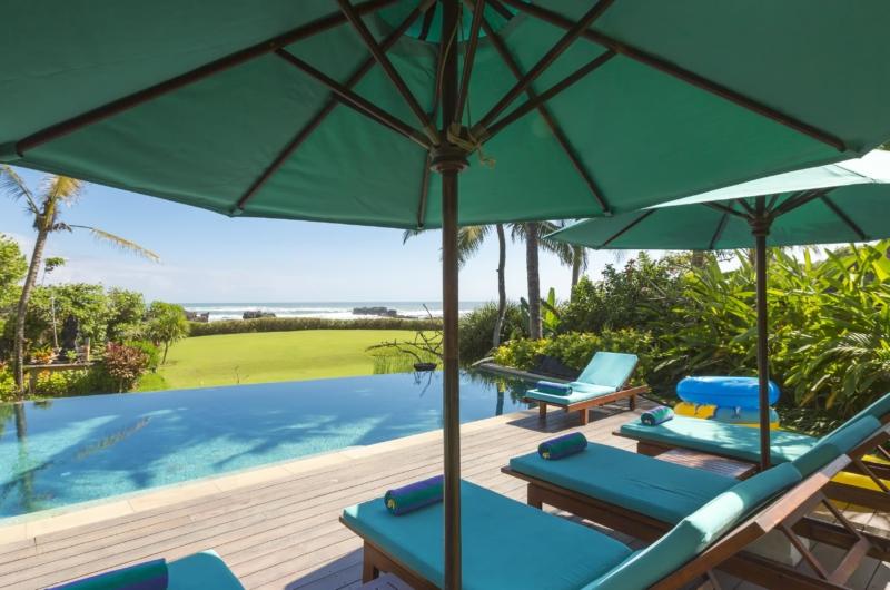 Swimming Pool with Sea View - Villa Tanju - Seseh, Bali
