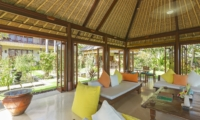 Living Area with View - Villa Tanju - Seseh, Bali