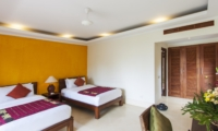 Bedroom with Twin Beds - Villa Tanju - Seseh, Bali