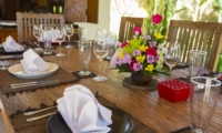 Dining Table - Villa Tanju - Seseh, Bali