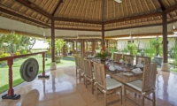 Dining Area with View - Villa Tanju - Seseh, Bali