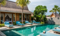 Pool Side Loungers - Villa Taramille - Kerobokan, Bali