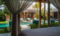 Bedroom with Pool View - Villa Taramille - Kerobokan, Bali