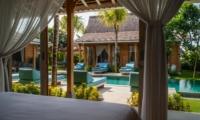 Bedroom with View - Villa Taramille - Kerobokan, Bali