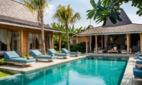 Reclining Sun Loungers - Villa Taramille - Kerobokan, Bali