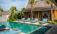 Sun Beds at Day Time - Villa Taramille - Kerobokan, Bali