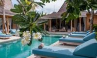 Pool Side - Villa Taramille - Kerobokan, Bali