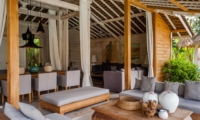 Living and Dining Area - Villa Taramille - Kerobokan, Bali