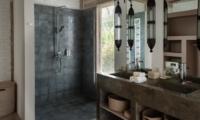 En-Suite Bathroom with Shower - Villa Taramille - Kerobokan, Bali