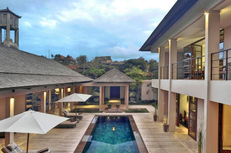 Gardens and Pool - Villa Teana - Jimbaran, Bali