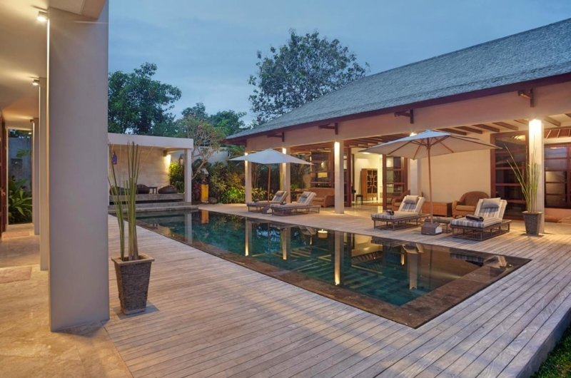 Pool Side Loungers - Villa Teana - Jimbaran, Bali