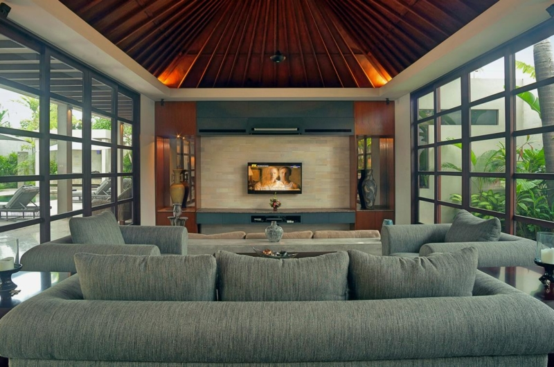 Living Area with TV - Villa Teana - Jimbaran, Bali