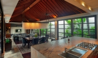 Living, Kitchen and Dining Area - Villa Teana - Jimbaran, Bali