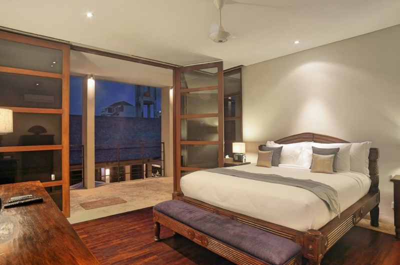 Bedroom with TV - Villa Teana - Jimbaran, Bali
