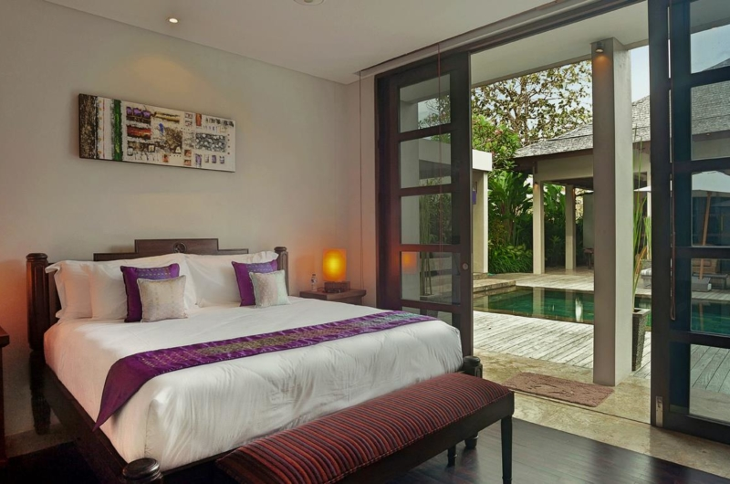 Bedroom with View - Villa Teana - Jimbaran, Bali
