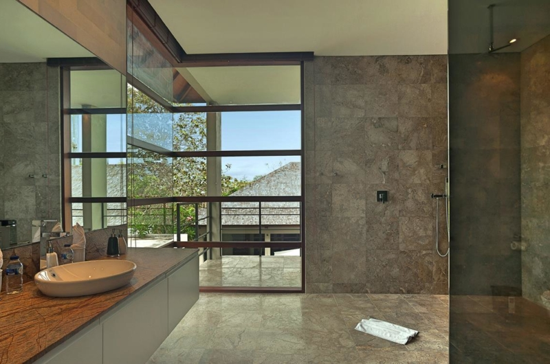 Bathroom with View - Villa Teana - Jimbaran, Bali