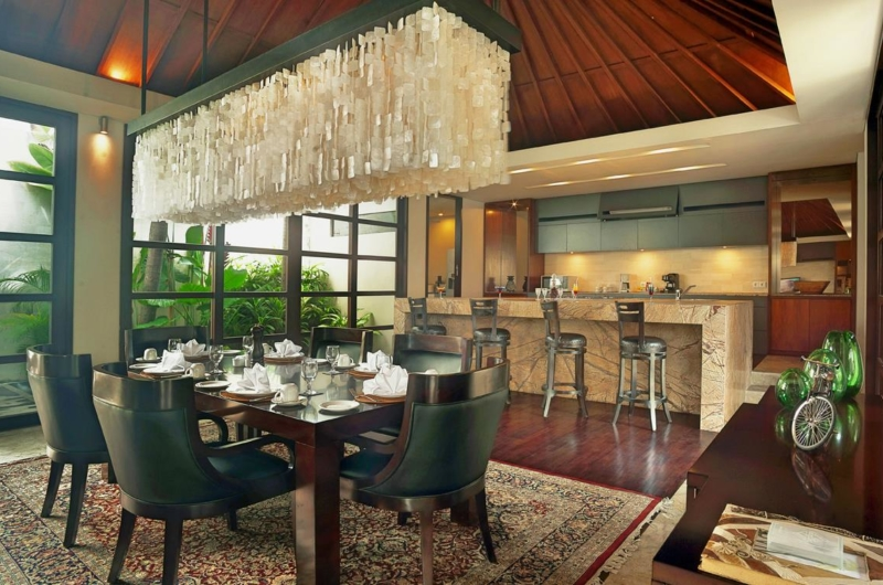 Kitchen and Dining Area - Villa Teana - Jimbaran, Bali