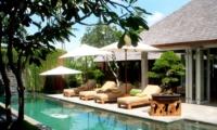 Pool Side - Villa Tenang - Batubelig, Bali