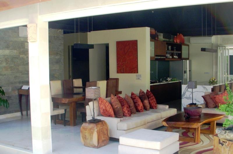 Living Area - Villa Tenang - Batubelig, Bali