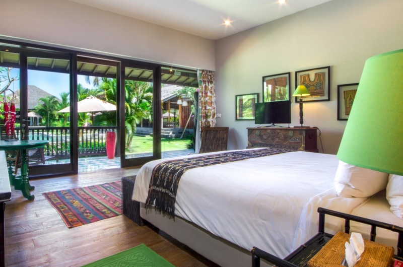 Bedroom with Garden View - Villa Theo - Umalas, Bali