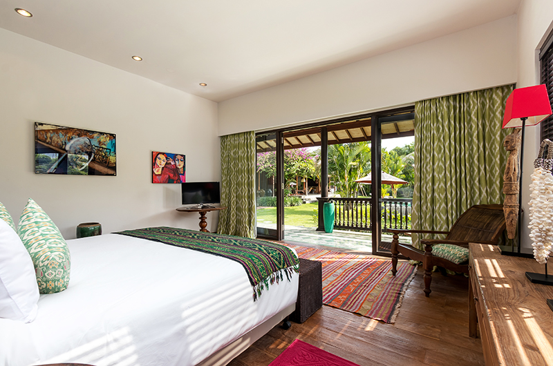 Bedroom with View - Villa Theo - Umalas, Bali