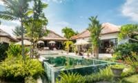 Pool Side - Villa Tibu Indah - Canggu, Bali