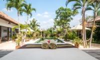 Pool Side Seating Area - Villa Tibu Indah - Canggu, Bali