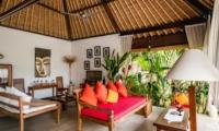 Living Area - Villa Tibu Indah - Canggu, Bali