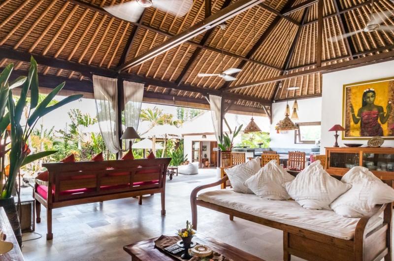 Indoor Living Area - Villa Tibu Indah - Canggu, Bali