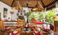 Dining Area - Villa Tibu Indah - Canggu, Bali