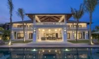 Pool at Night - Villa Tjitrap - Seminyak, Bali