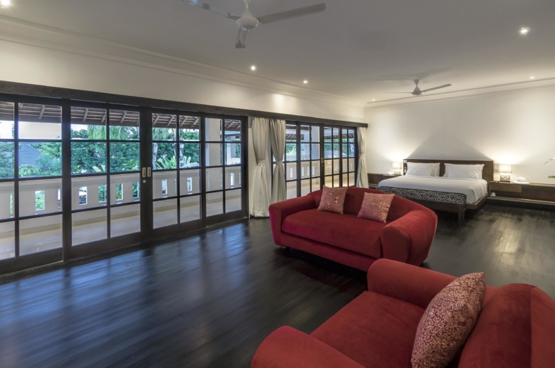 Spacious Bedroom with Sofa - Villa Tjitrap - Seminyak, Bali