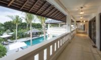 View from Balcony - Villa Tjitrap - Seminyak, Bali