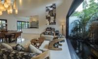 Living and Dining Area - Villa Tjitrap - Seminyak, Bali