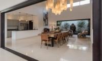 Kitchen and Dining Area - Villa Tjitrap - Seminyak, Bali