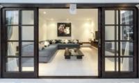 Indoor Living Area with TV - Villa Tjitrap - Seminyak, Bali