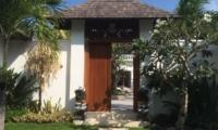 Entrance View - Villa Tjitrap - Seminyak, Bali
