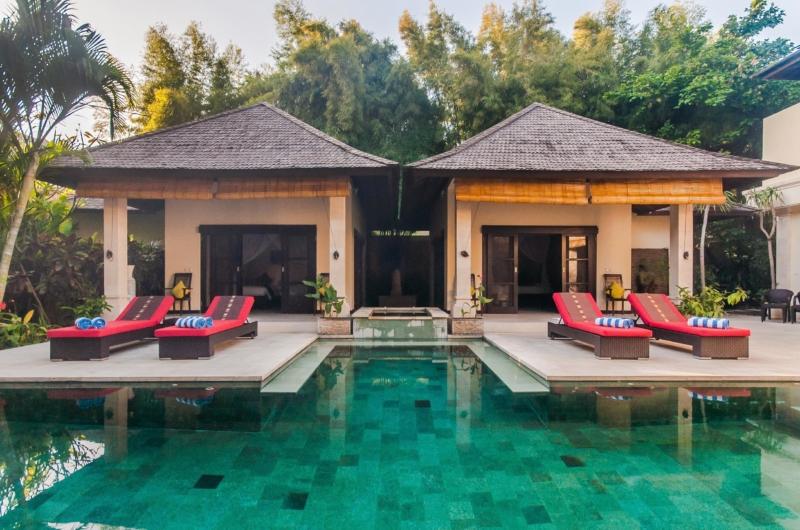 Sun Beds - Villa Tresna - Seminyak, Bali