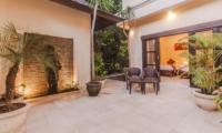 Twin Bedroom View - Villa Tresna - Seminyak, Bali