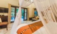 Bedroom with Pool View - Villa Tresna - Seminyak, Bali