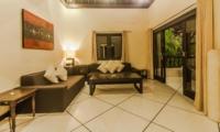 Lounge Area and Balcony - Villa Tresna - Seminyak, Bali