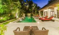 Pool Side - Villa Tresna - Seminyak, Bali