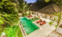 Top View - Villa Tresna - Seminyak, Bali
