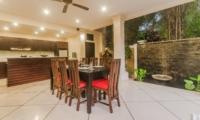 Kitchen and Dining Area - Villa Tresna - Seminyak, Bali