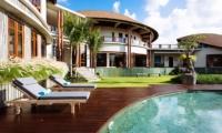 Pool Side - Villa Umah Daun - Umalas, Bali