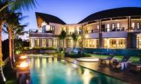 Pool at Night - Villa Umah Daun - Umalas, Bali