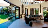 Living Area with Garden View - Villa Umah Daun - Umalas, Bali