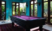 Billiard Table - Villa Umah Daun - Umalas, Bali