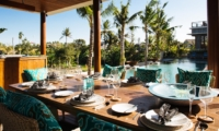 Dining Area with Pool View - Villa Umah Daun - Umalas, Bali