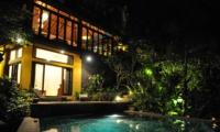 Night View - Villa Umah Shanti - Ubud, Bali